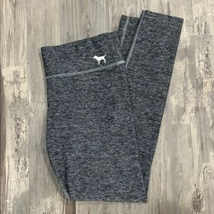 Victoria's Secret PINK yoga leggings pants gray M